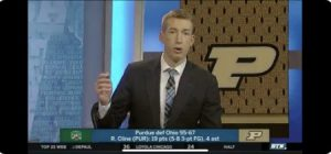 PHOTO Robbie Hummel On BTN Wearing Suit That Matches Purdue Logo