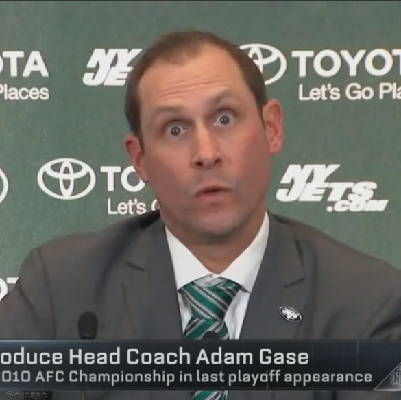 PHOTO Adam Gase Deer In Headlights Look During Introductory Press Conference