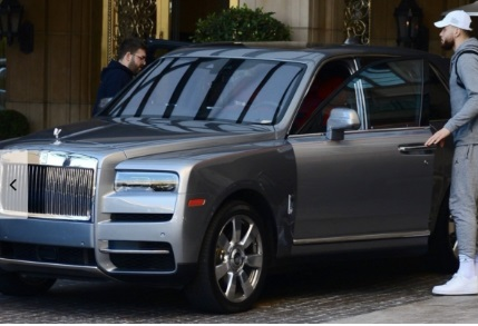 PHOTO Blake Griffin Spotted In His Rolls Royce