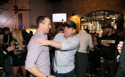 PHOTO Drew Brees At Club With Side Chick