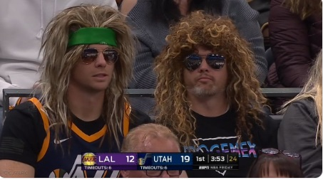 PHOTO Jazz Fans With Heavy Metal Hair
