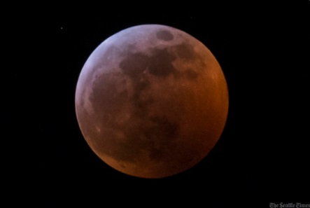 PHOTO View Of Lunar Eclipse From Seattle