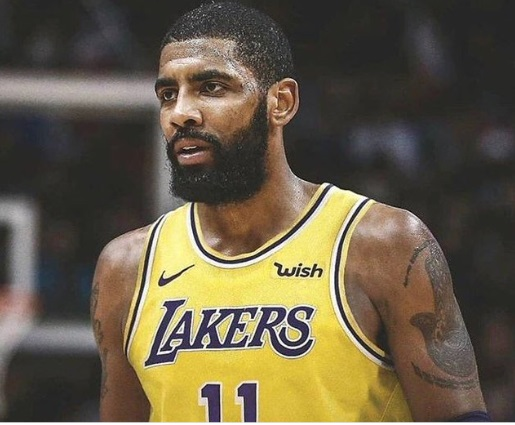 PHOTO Kyrie Irving In A Lakers Jersey