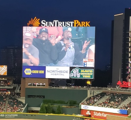 PHOTO Outkast At The Braves Game