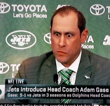 PHOTO Adam Gase Looking Like A Crazy Man