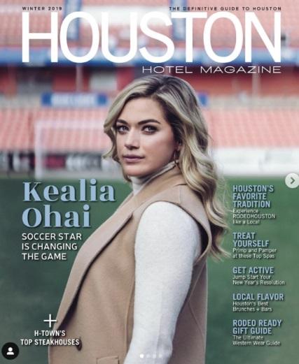 PHOTO JJ Watt's Girlfriend On Cover Of Houston Magazine