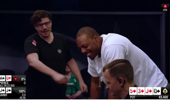 PHOTO Paul Pierce Playing Professional Poker