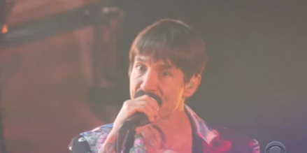 PHOTO Anthony Kiedis Looks Like Marc Davis