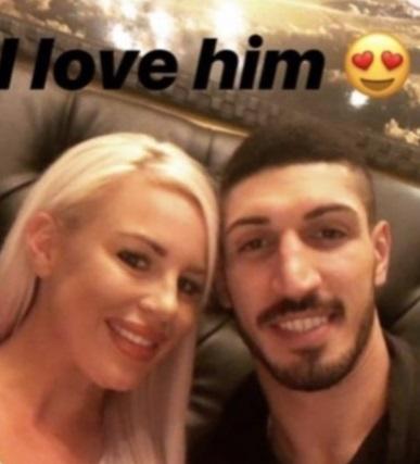 PHOTO Enes Kanter's WWE Girlfriend