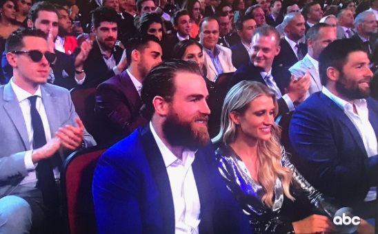 PHOTO Jordan Binningston Looks Hungover At The ESPYS