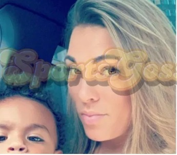 PHOTO Antonio Brown's Baby Mama And His Child