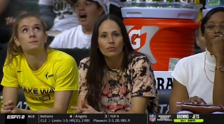 PHOTO Sue Bird In Metallica Tie Dye Shirt