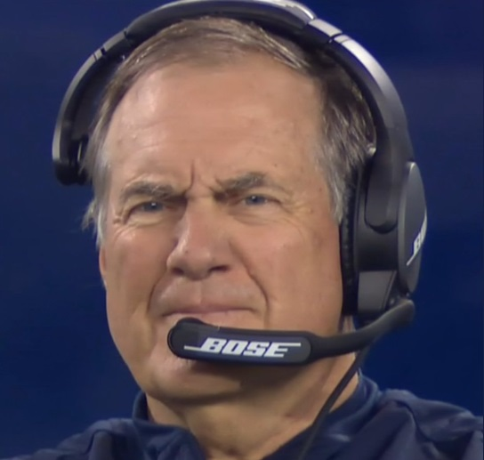 PHOTO Bill Belichick Looking Smug And Very Pleased With Himself