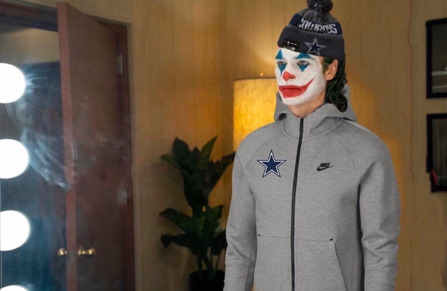 PHOTO Jason Garrett Dressed Up As A Clown