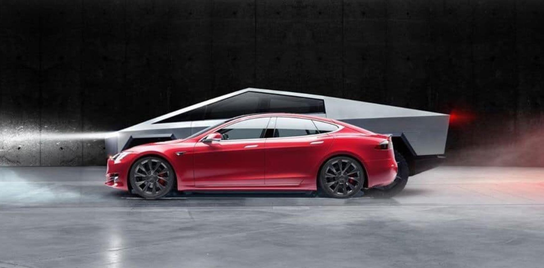 Tesla Cybertruck - Page 3 PHOTOS-Tesla-CyberTruck-Size-comparison-Vs-Model-S