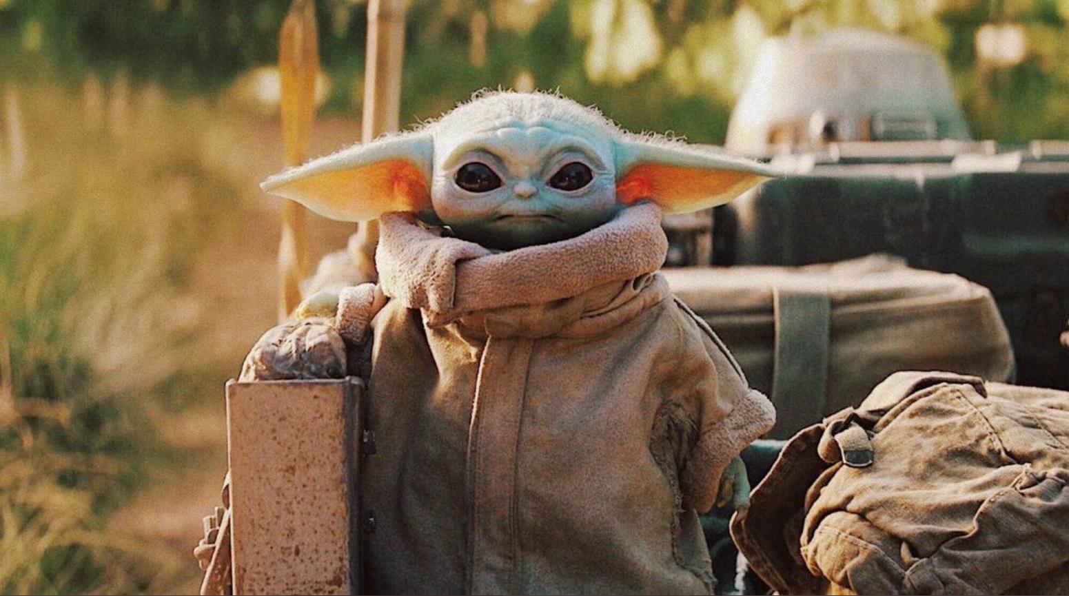 PHOTO Baby Yoda In A Parka Jacket