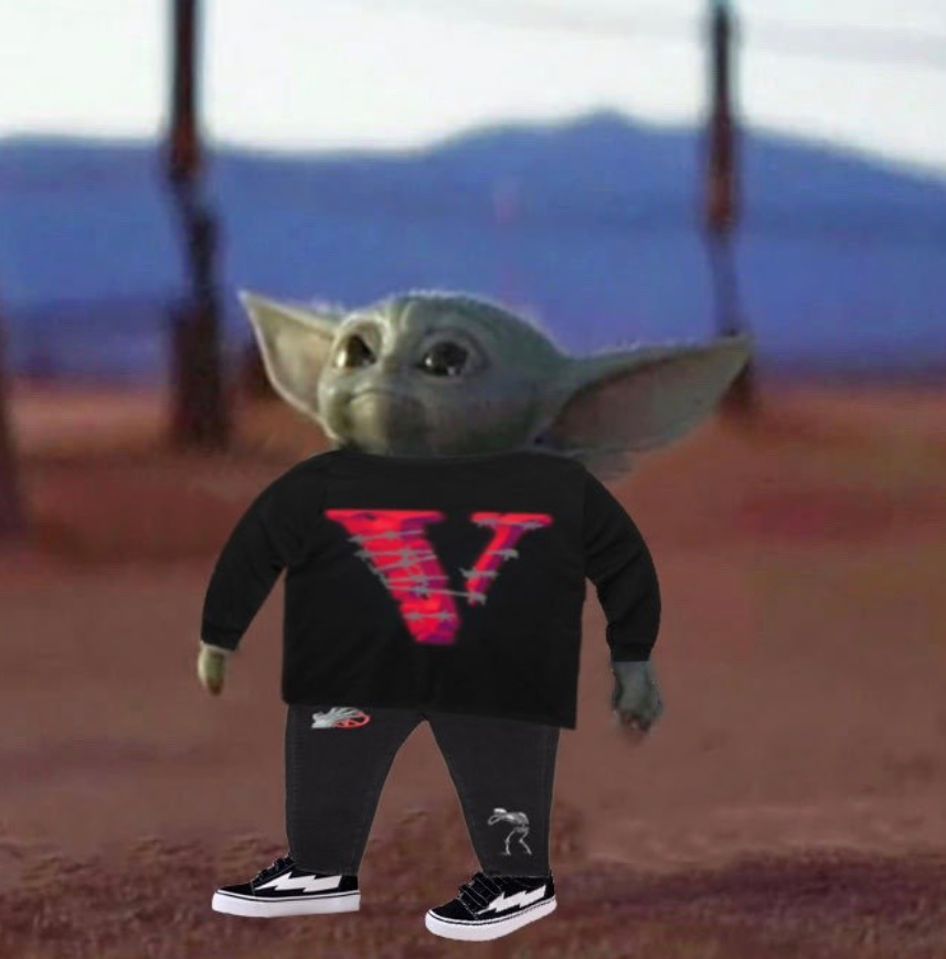 PHOTO Baby Yoda Is A Carti Fan