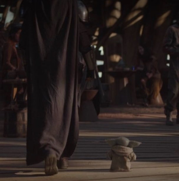 PHOTO Baby Yoda Smol I Am