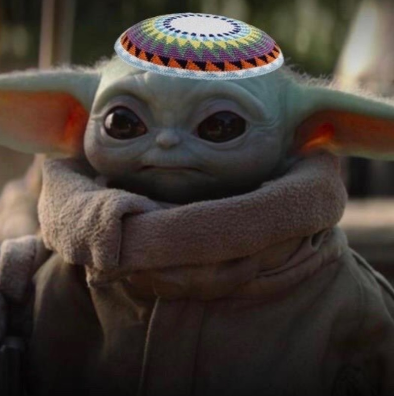 PHOTO Jewish Baby Yoda
