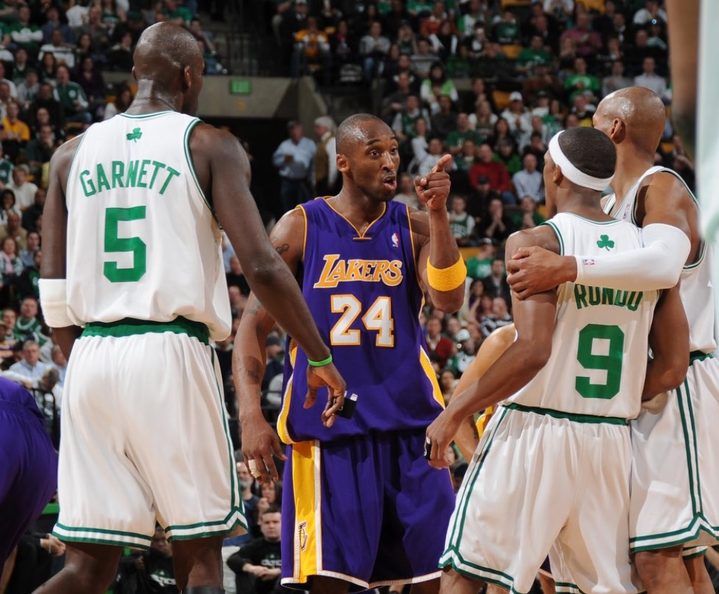 PHOTO Kobe Bryant Ready To Scrap With Ray Allen