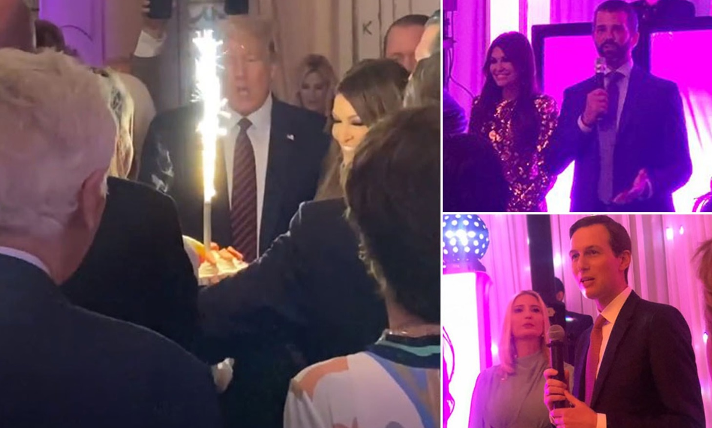 PHOTO Donald Trump's Throwing Lavish Party At Mar-A-Lago While People Are Dying Of Corona Virus