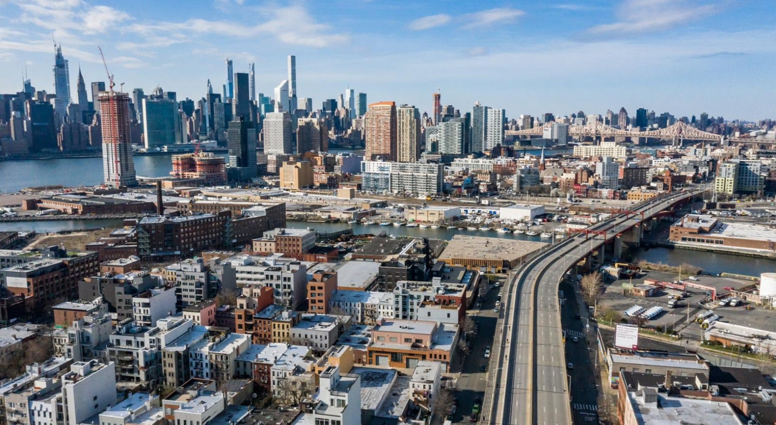 PHOTO Empty Freeway In New York City Due To Lockdown