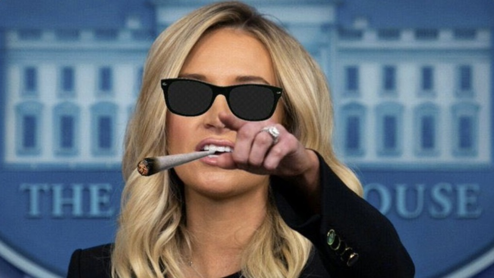 PHOTO Kayleigh McEnany Smoking A Cigarette