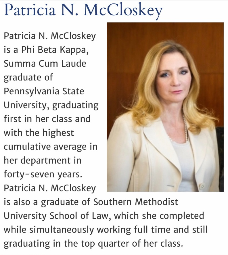 PHOTO Patricia McCloskey Went To Penn State