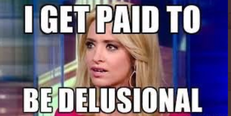 PHOTO I Get Paid To Be Delusional Kayleigh McEnany Meme