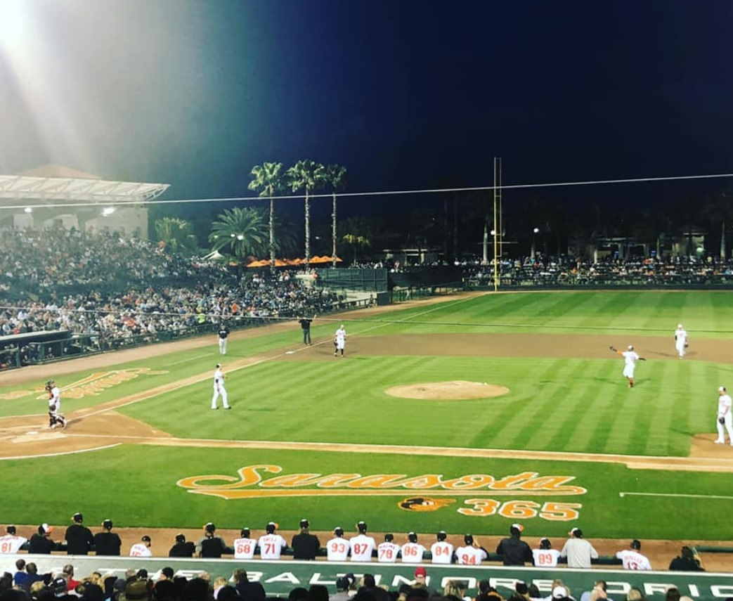 PHOTO Kayleigh McEnany Had Terrible Seats At A Baltimore Orioles Spring Training Game