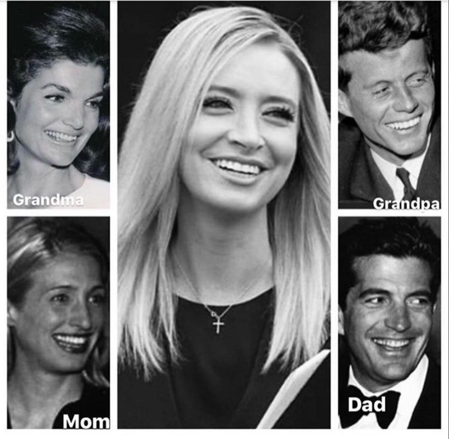 PHOTO Kayleigh McEnany Is JFK Jr And Carolyn Bessette's Daughter